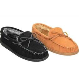 Cushion-Walk Real Suede Leather Moccasin Warm Slippers Cosy