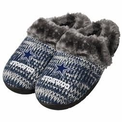 Dallas Cowboys Slippers Logo NEW Womens Slide House shoes! P