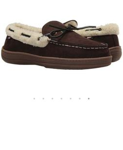 Ben Sherman House Slippers Size 8M Color Brown New