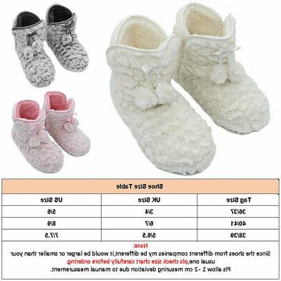 indoor shoes winter warm slippers home plush