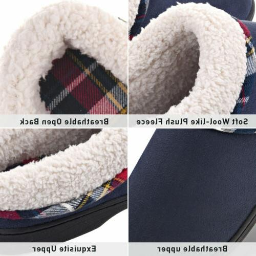 Men's Memory Slippers Lining Shoes