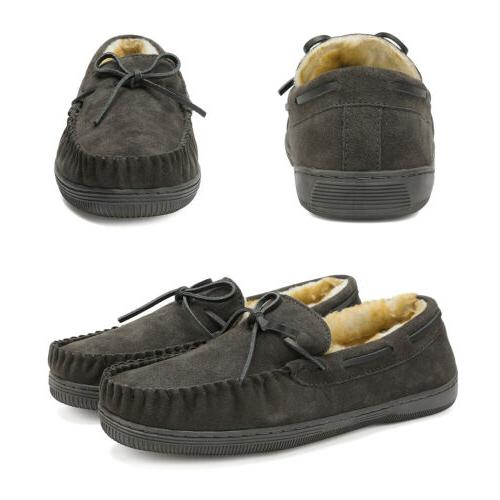 Men's House Moccasin Loafers Shoes 6.5-15