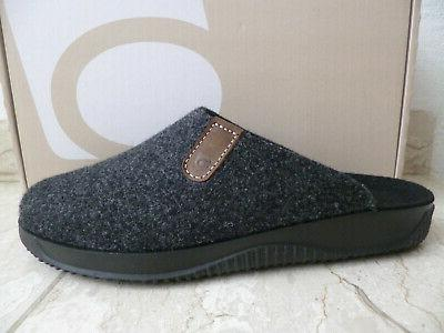 Rohde Slippers House Shoes Anthracite Soft Felt New