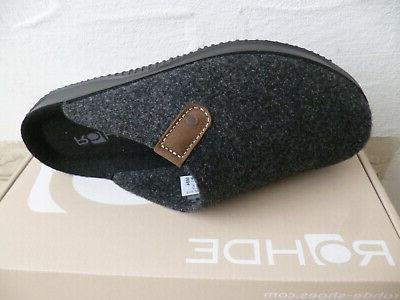 Rohde House Shoes Soft New