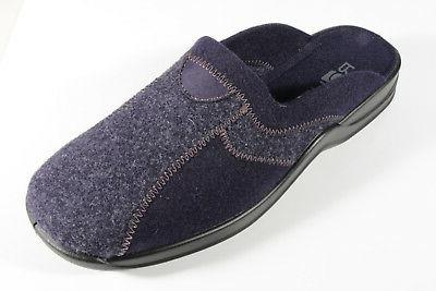 Rohde Men's Slippers House Shoes Blue 2743