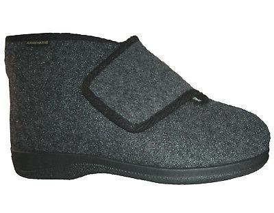 slippers house boots touch fastener warm felt