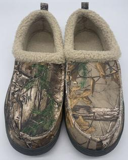 Magellan Men's Camouflage House Shoes Slippers Moccasins Siz