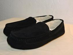 Amazon Essentials Men's Leather Moccasin Slippers Size 10 US