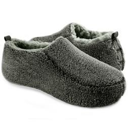 Men's Slippers Cozy Comfy Funny Fuzzy Fluffy Indoor Warm Non
