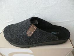 Rohde Men's Slippers House Shoes Anthracite Soft Felt New
