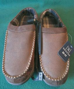 Men's George Slippers House Shoes Memory Foam Mens Size 11-1