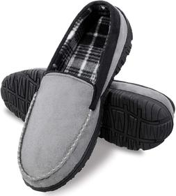 Men'S Slippers Moccasin Slipper House Shoes For Men With Ant