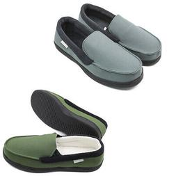Men's Canvas Loafers Driving Shoes Moccasins Slip On Flats H