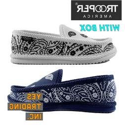 mens causal house shoes paisley bandana slippers