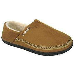 Coolers Mens Microsuede Soft Comfy House Shoe Tan Fur Lined