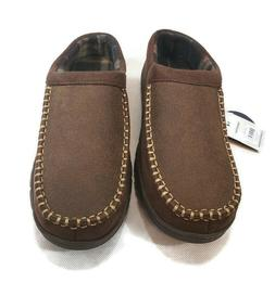 George Mens Rugged Memory Foam Slippers House shoes 7-8,  9-