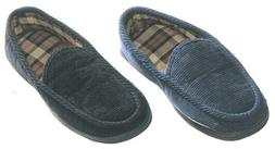 Maschismo Mens Slippers House Shoes Corduroy Slip On Moccasi