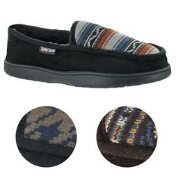 Mukluks Henry Men's Corduroy Faux Fur Lined Slippers House S