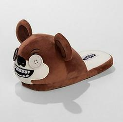 new brown funny ugly monster bear slippers