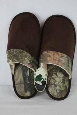 NEW Mens Slippers Medium Mossy Oak Camouflage Scuffs House S