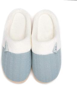 NineCiFun Womens Summer Slippers Slip on House Shoes Indoor