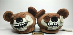 """NWT Brown Fuggler """"Funny Ugly Monster"""" Bear Slippers House S"""