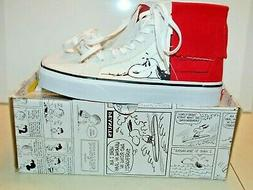 Vans off the Wall Peanuts Dog House/Bone Sneakers  Sz Womens