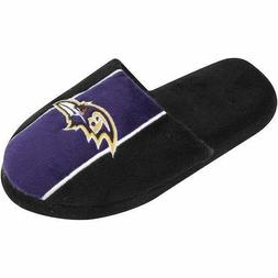 pair of baltimore ravens big logo stripe