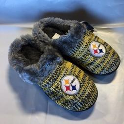 pittsburgh steelers slippers logo new womens slide